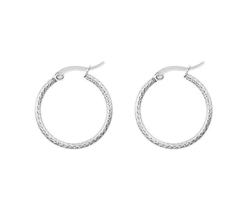 EARRING RUIT SMALL SILVER