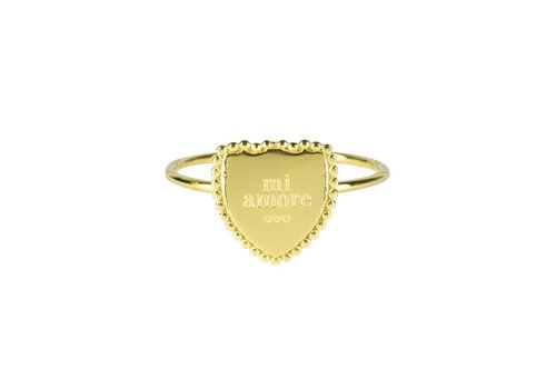 MY JEWELLERY RING MI AMORE GOLD