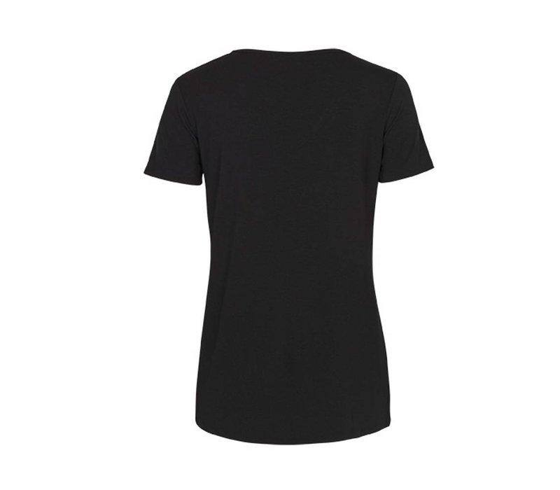 QUEENIE SHIRT BLACK