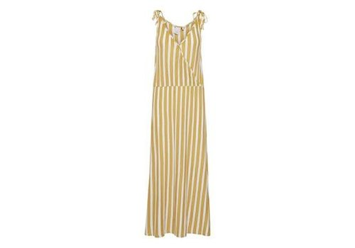 ICHI IHCLAYTON DRESS OLD GOLD