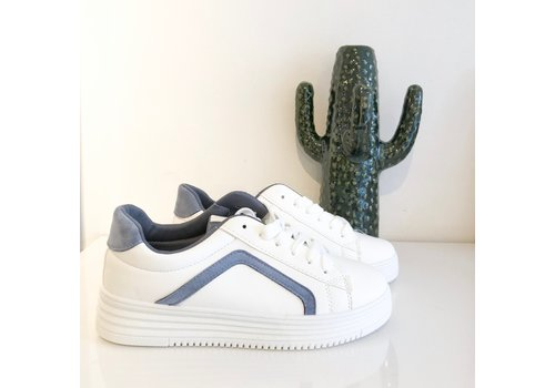 SHADES OF BLUE SNEAKERS