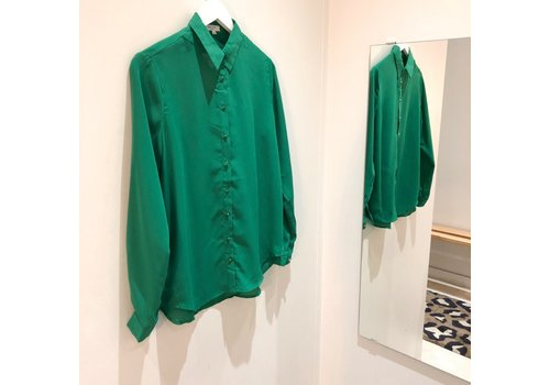 BOBBY GREEN BLOUSE