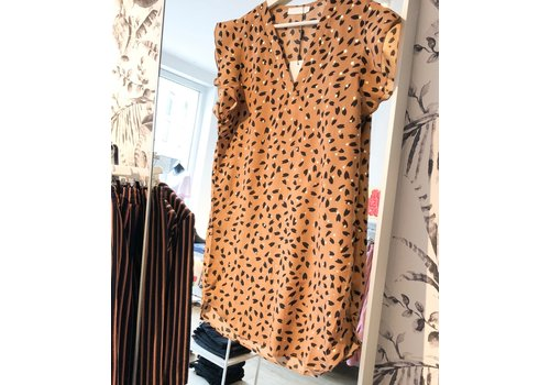 CAMEL STEF DRESS