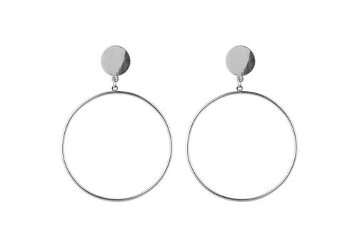 THEM SILVER HOOPS