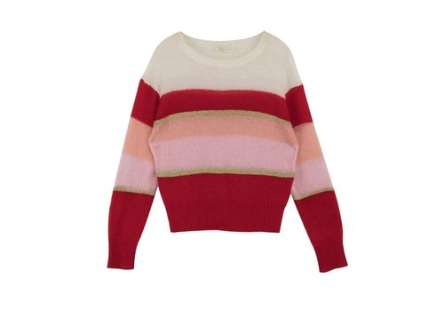 artlove RED STRIPE PINK PULL