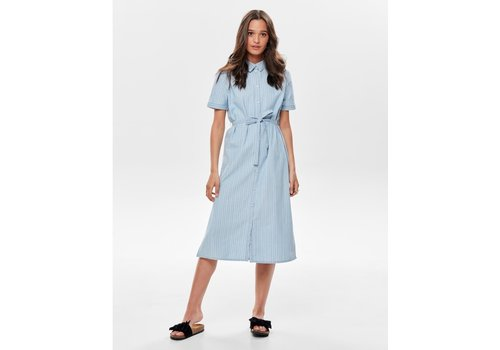 JDYLEILA LIGHT BLUE DRESS