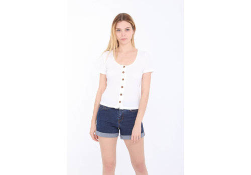 WHITE ZITA TOP