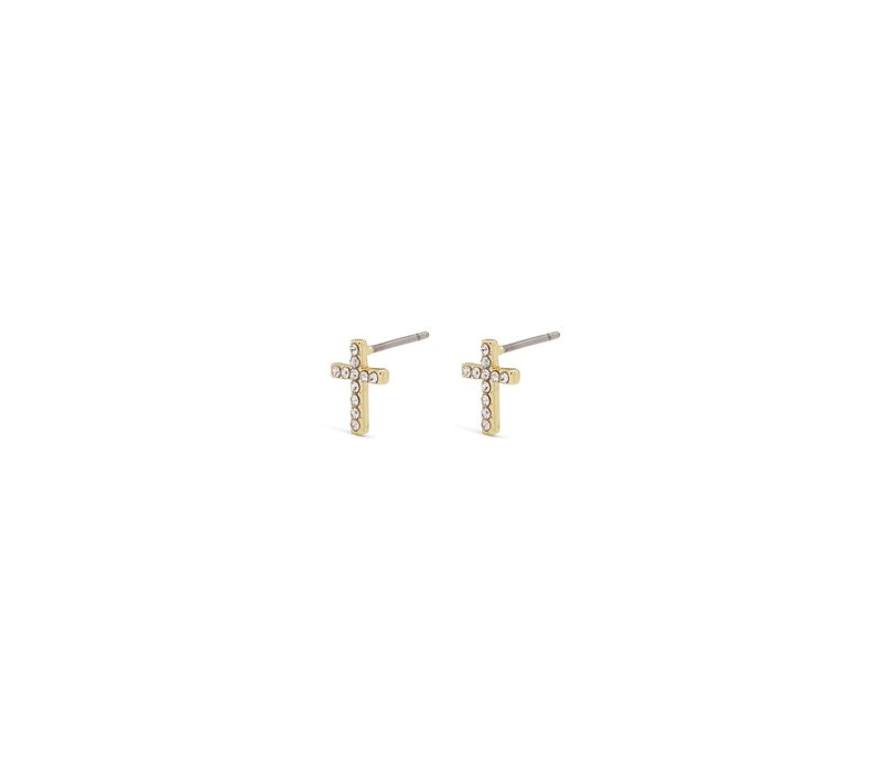 CLARA GOLD PLATED EARRINGS