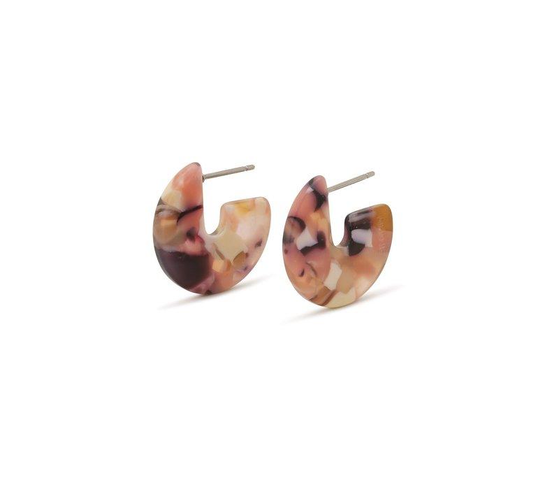 MIKA PURPLE EARRINGS