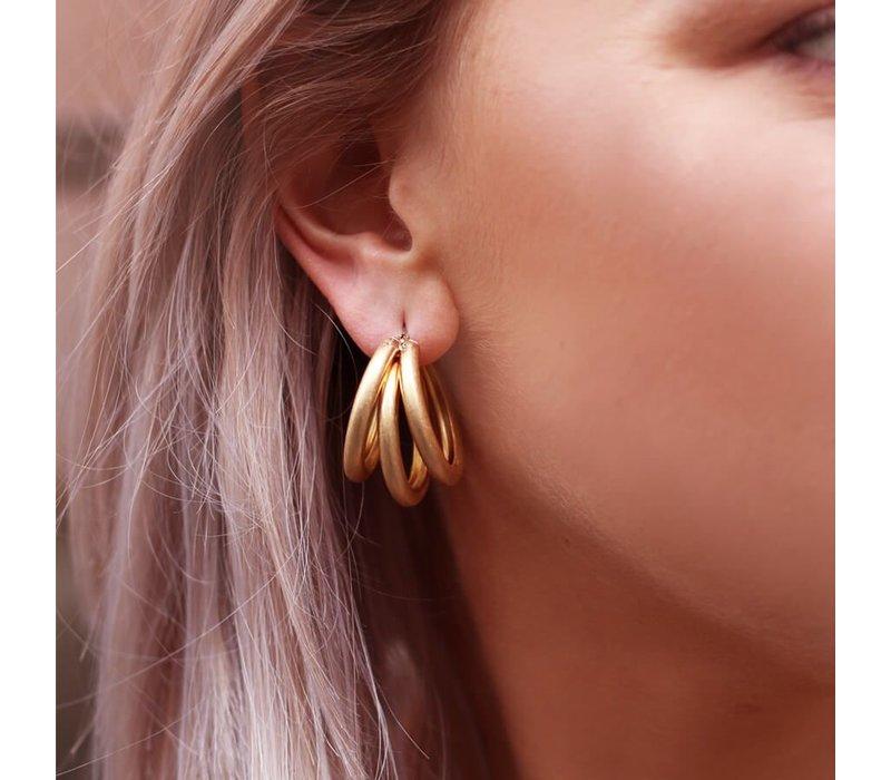 TRIPPLE EARRINGS