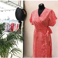 RED MAGGIE DRESS