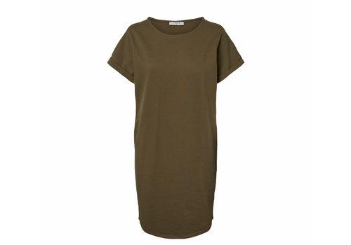 PCCARLY DRESS BEECH