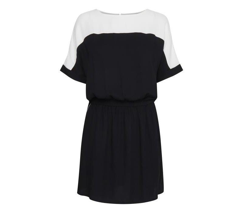 BXILINE DRESS BLACK X WHITE