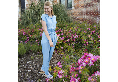 LILY JEANS JUMPSUIT - ONE SIZE