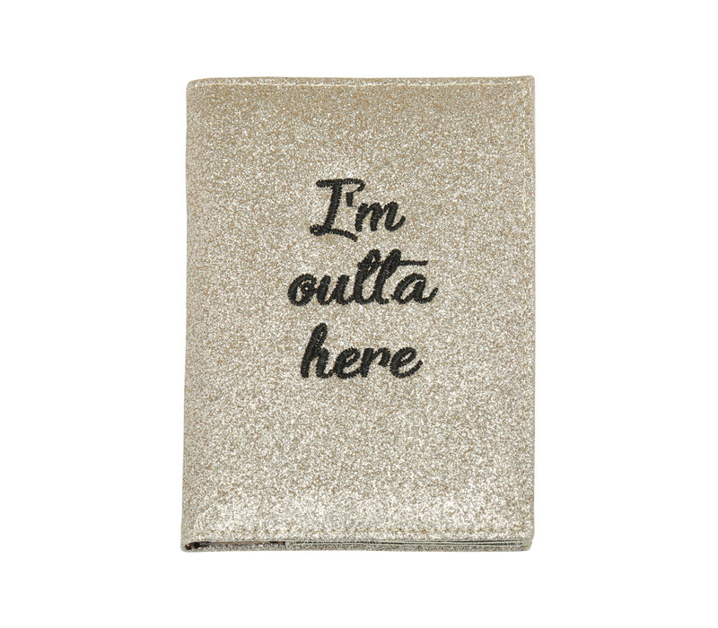 OUTTA HERE PASSPORT CASE
