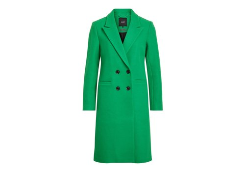 OBJECT OBJLINA GREEN COAT