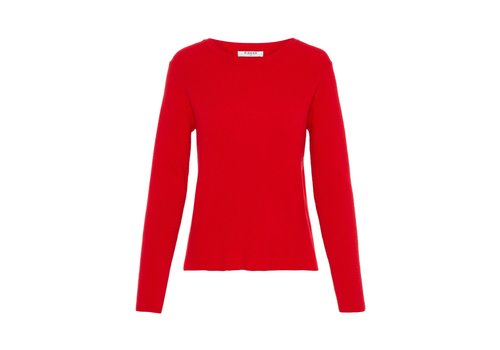 PCCHART RED KNIT