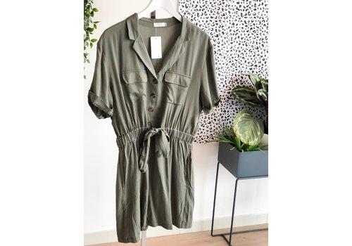LEA GREEN DRESS