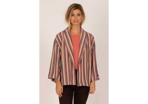 AMUSE SOCIETY ALFRESCO WOVEN TOP