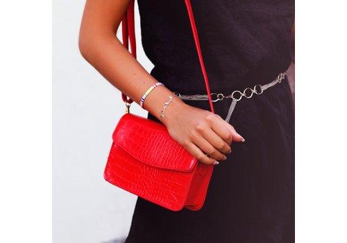 RED SNAKE BAG
