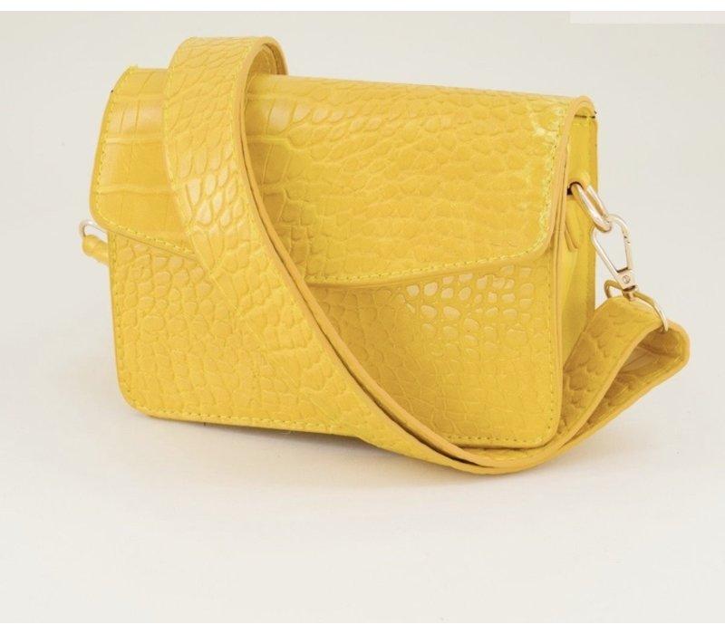 YELLOW SNAKE BAG