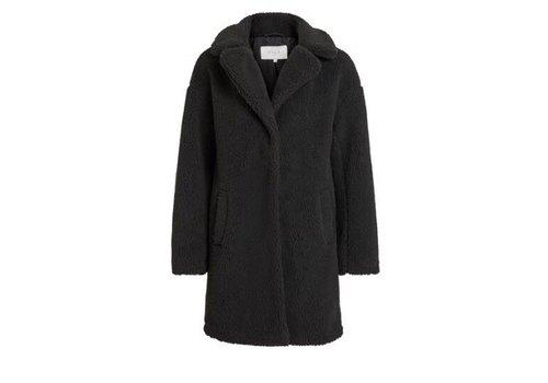 VIPLYS TEDDY COAT BLACK