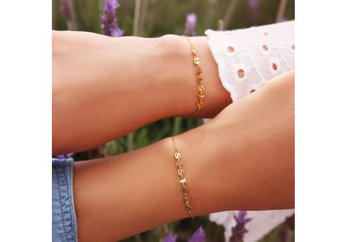 SISTERS BRACELET GOLD