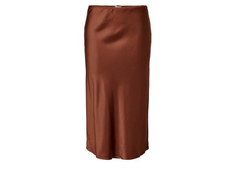 JDYPERFECT CINNAMON MIDI SKIRT