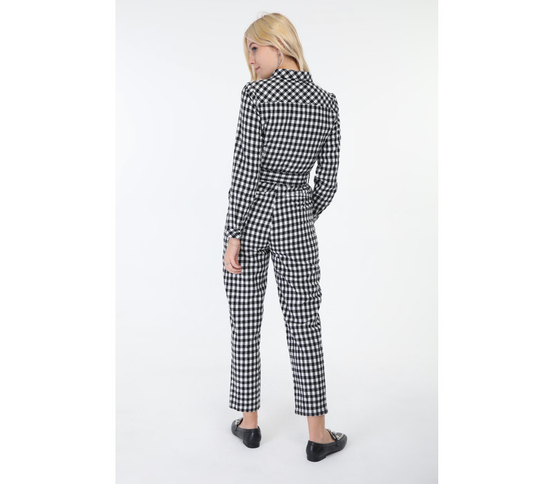 CHECKED TRACKSUIT