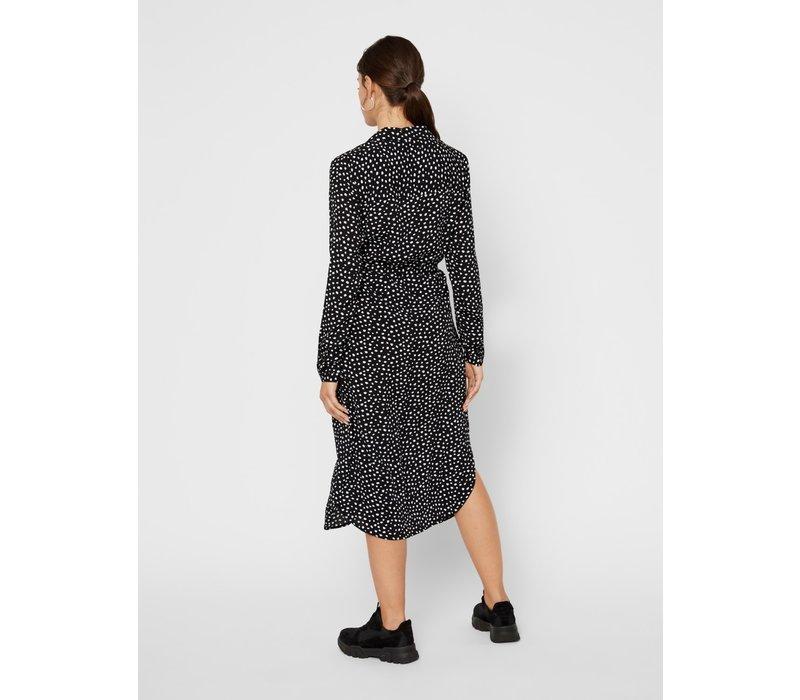 PCNICOLETTA DRESS BLACK