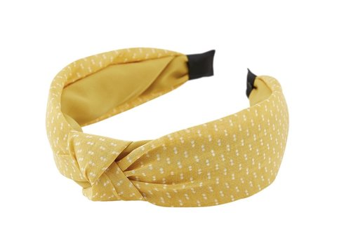 PCNACIE HAIRBAND YELLOW