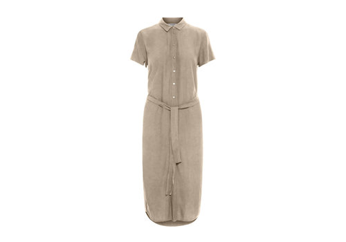 PCCECILIE LONG WHITE PEPPER DRESS