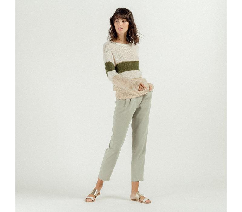 LORA GREEN PANTS