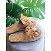BOW WOW SLIPPERS - CAMEL