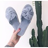 BOW WOW SLIPPERS BABY BLUE
