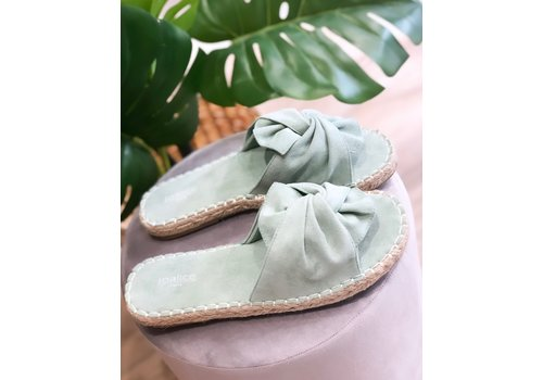 BOW WOW SLIPPERS MINT