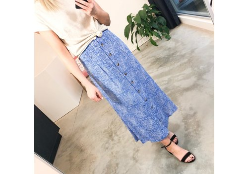 BLUE LEAF SKIRT