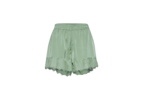 ICHI IHTAIA GREEN SHORT