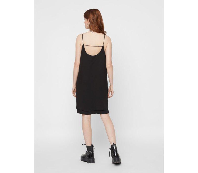PCBODIL SLIP DRESS BLACK