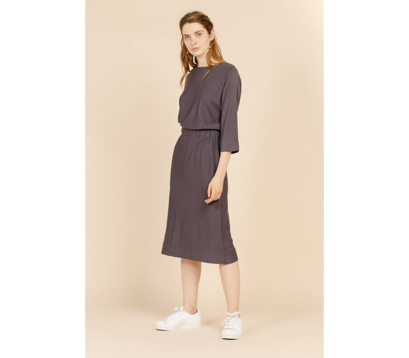 BONNIE GREY DRESS