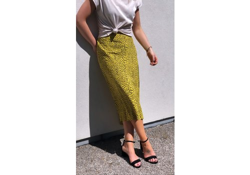 DOTS YELLOW SKIRT