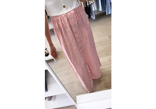 PINKORANGE LEAF SKIRT