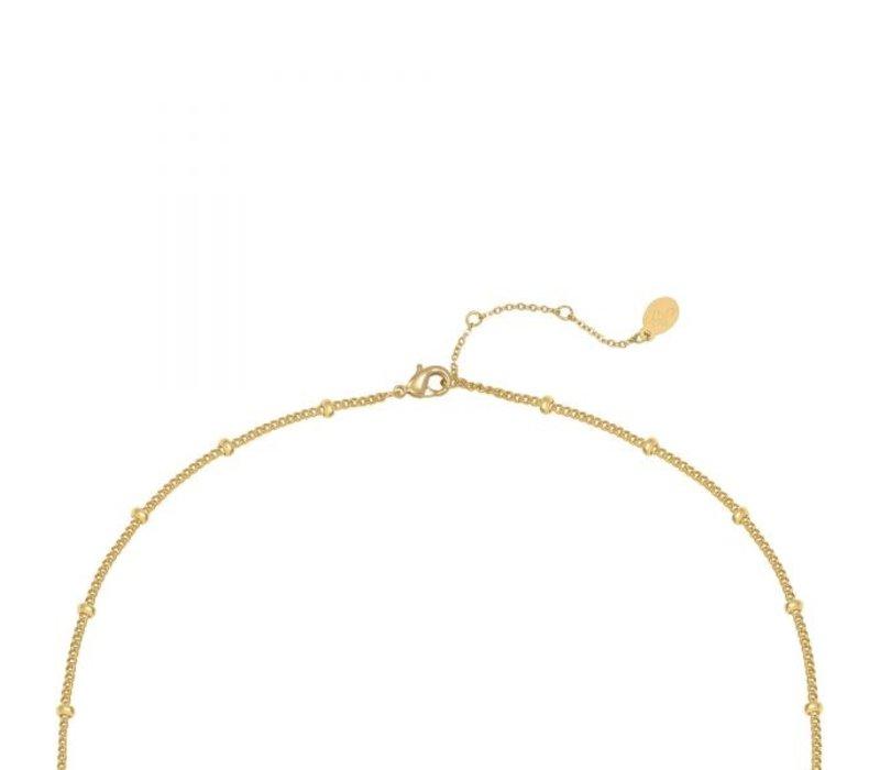 XOXO NECKLACE GOLD