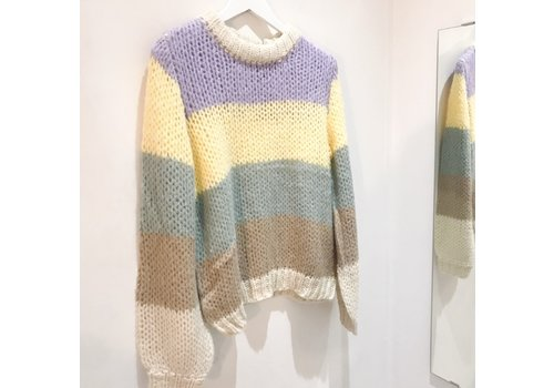 Pieces PCSIRI COLOURFUL KNIT
