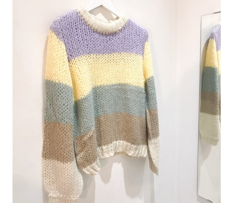 PCSIRI COLOURFUL KNIT