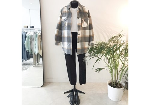 Pieces PCSELMA CHECKED JACKET