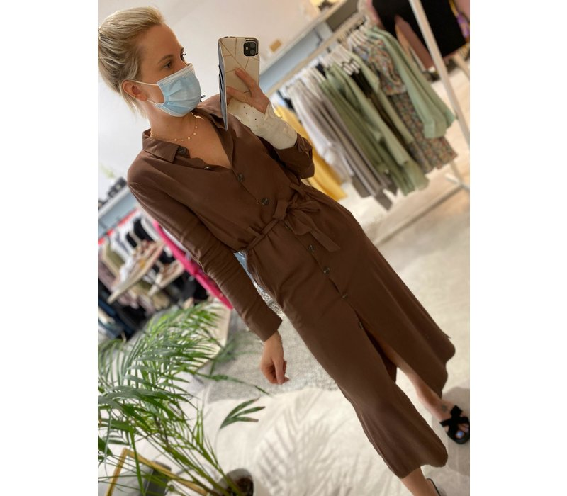 LAIDA BROWN DRESS