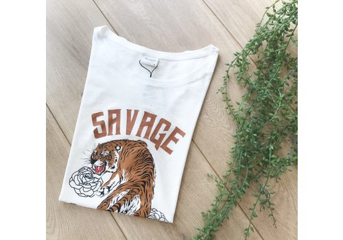 JYD CHICAGO TIGER TEE WHITE
