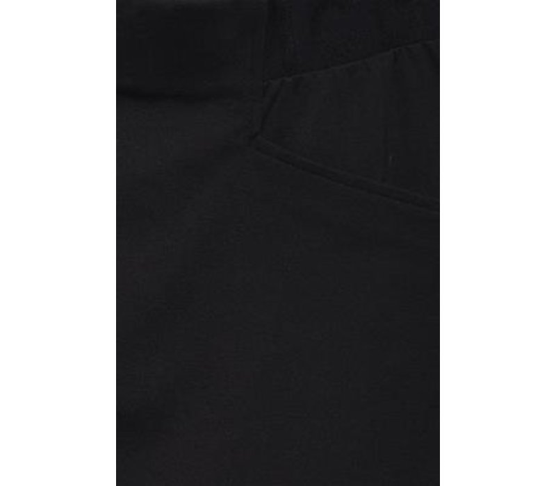 KATE LOGO BLACK SKIRT