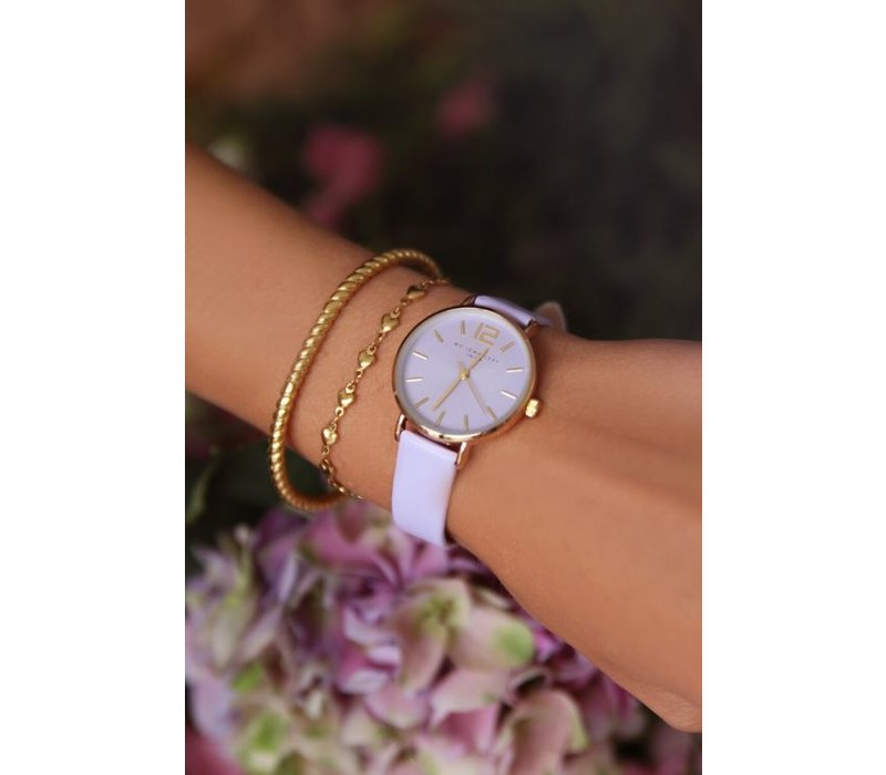 LILAC WATCH GOLD